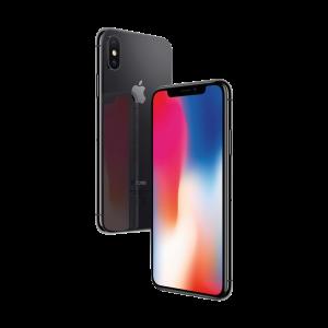 iPhone X 256 GB - stellargrå