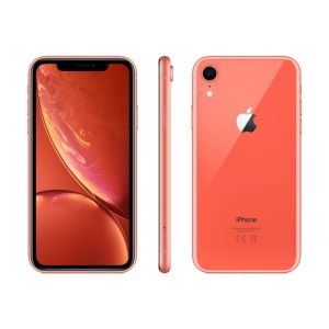 iPhone XR 256 GB - korallrød