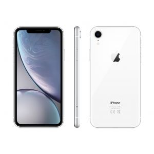iPhone XR 128 GB - hvit