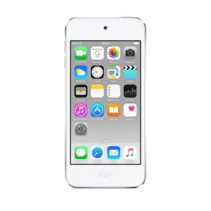 iPod touch 16 GB i hvit og sølv