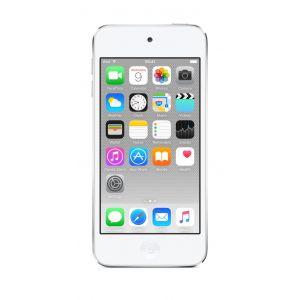 iPod touch 128 GB i hvit og sølv
