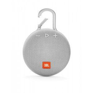 JBL Clip 3 trådløs høyttaler - hvit