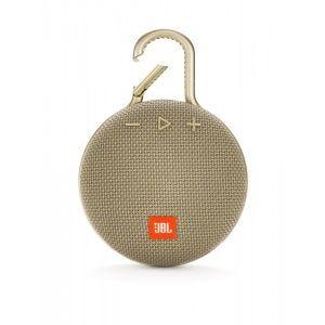 JBL Clip 3 trådløs høyttaler - sand