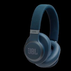 JBL LIVE 650BTNC trådløse hodetelefoner med støykansellering - Blå