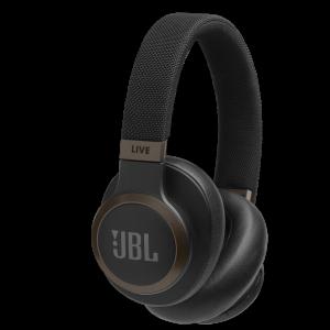 JBL LIVE 650BTNC trådløse hodetelefoner med støykansellering - Sort