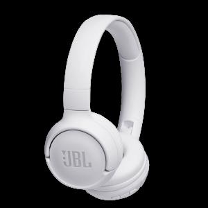 JBL Tune 500 On-Ear Trådløse Hodetelefoner (Hvit)