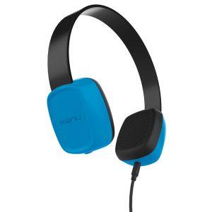 Kenu Groovies Kids hodetelefoner for barn - blå
