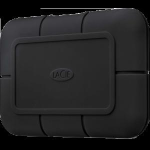 LaCie Rugged Pro 1TB SSD ekstern lagringsenhet med Thunderbolt 3 (USB-C)-tilkobling