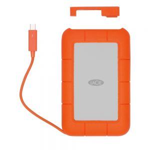 LaCie Rugged bærbar harddisk med thunderbolt + USB-C - 4 TB
