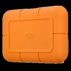 LaCie Rugged 2 TB ekstern SSD-disk med USB-C