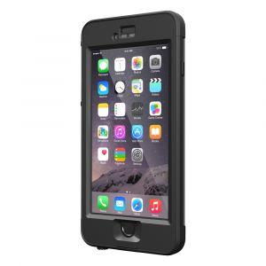 LifeProof iPhone 6 Plus-deksel: NÜÜD - svart