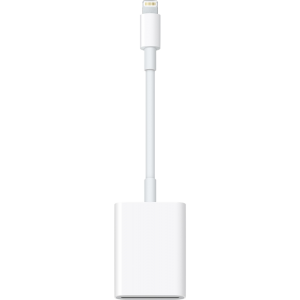 Apple Lightning til SD-minnekortleser