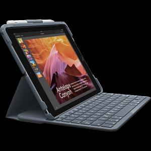 Logitech Slim Folio tastaturdeksel til iPad (5. og 6. generasjon iPad)