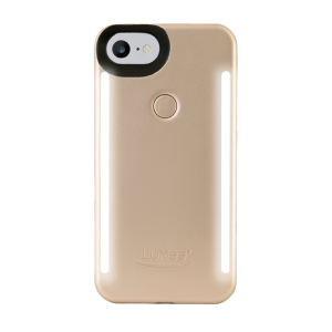 LuMee Duo selfie-deksel til iPhone 8/7 - matt gull