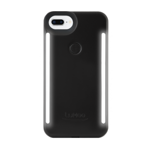 LuMee Duo selfie-deksel til iPhone 8 Plus/7 Plus - matt svart