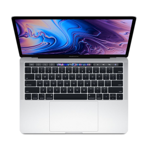 MacBook Pro 13-tommer med Touch Bar 2,3 GHz 256 GB  i sølv (2018)