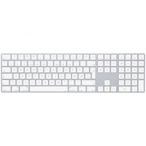 Magic Keyboard med talltastatur – norsk - sølv