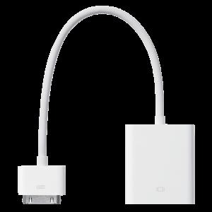 Apple 30-pinners til VGA-adapter