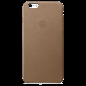 Apple skinndeksel for iPhone 6s Plus i brun