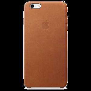 Apple skinndeksel for iPhone 6s Plus - lærbrun
