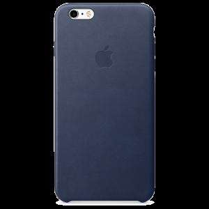 Apple skinndeksel for iPhone 6s Plus - midnattsblå