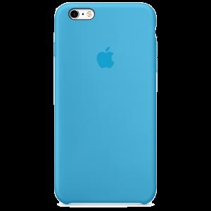 Apple silikondeksel for iPhone 6s Plus - blå