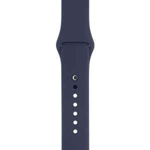 Apple Sport Band 42 mm - midnattsblå