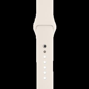 Apple Watch Sport Band 42 mm i antikkhvit