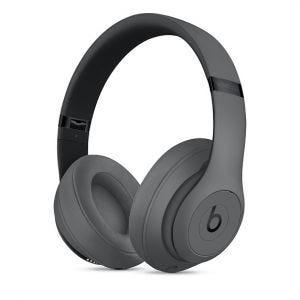 Beats Studio3 trådløse lukkede hodetelefoner – Grå
