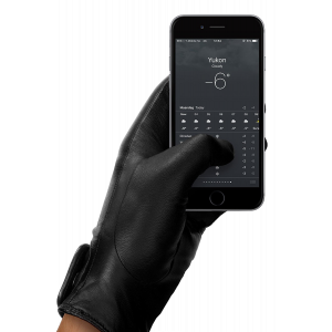Mujjo Touchscreen hansker i skinn - large (9)