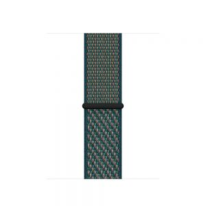 Nike Sport Loop 44/42 mm - Hyper Crimson/Neptune Green