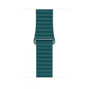 Apple Watch original reim 44/42 mm - Påfugl - Medium