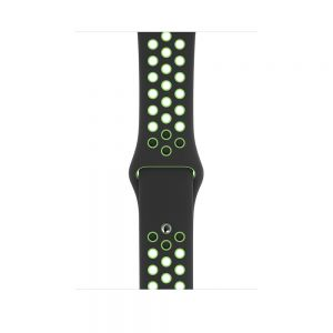Nike Sport Band 44/42 mm - Svart/Lime Blast