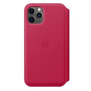 Apple Folio-skinndeksel til iPhone 11 Pro – Ripsrød
