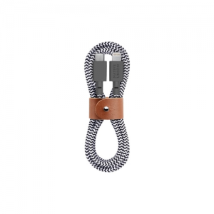 Native Union 1,2m Belt Cable USB C til Lightning