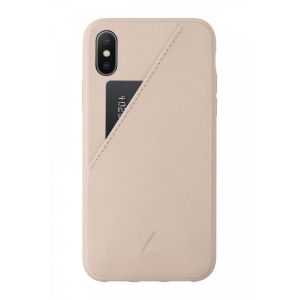 Native Union Clic Card til iPhone XS - rose