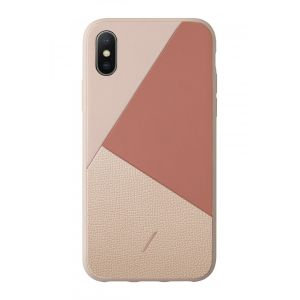 Native Union Clic Marquetry til iPhone XS - rose
