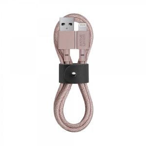 Native Union Lightning Belt Cable 1,2 m - rose