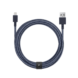 Native Union Lightning Belt Cable 3 m - Indigo