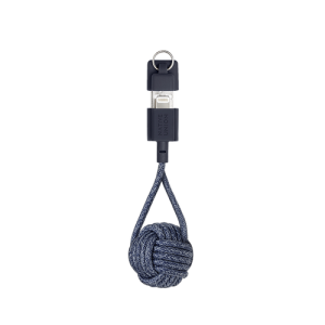 Native Union Lightning Key Cable - Indigo