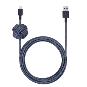 Native Union Lightning Night Cable 3 m - Indigo