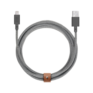 Native Union Lightning Belt Cable 3 m - zebrastripet