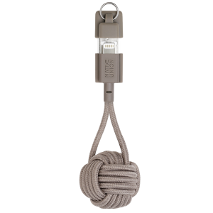 Native Union Lightning Key Cable - muldvarpsgrå