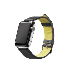 Native Union Apple Watch 42/44 mm Active Leather-rem i svart