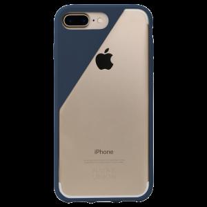 Native Union iPhone 8 Plus/7 Plus Clic Crystal-deksel - marineblå