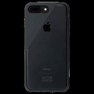 Native Union iPhone 8 Plus/7 Plus Clic Crystal-deksel - mørk grå