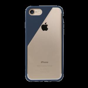 Native Union iPhone 8/7 Clic Crystal-deksel - marineblå