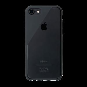 Native Union iPhone 8/7 Clic Crystal-deksel - mørk grå