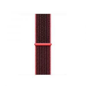 Nike Sport Loop 38 mm - Bright Crimson/Black