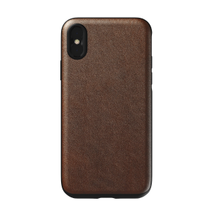 Nomad Rugged Case til iPhone X/XS - Brun